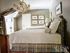 Young Man's Bedroom - Caroline McLean Tolleson, LLC - Fernandez & True Interiors - Knollwood - 2012 Atlanta Symphony Associates' Decorators' Showhouse & Gardens