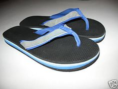 """1970's flip flops - these were the original """"thongs""""."""