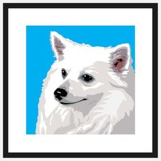 Pop Art American Eskimo, $39, now featured on Fab.