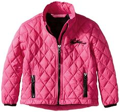 Weatherproof Little Girls' Diamond Quilted Thermoball Jacket *** You can find more details at…