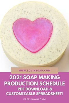 We love providing soap makers with free resources for soap recipes, essential oil blends and soap tips & tricks! The 2021 Soap Making Production Schedule for handmade soap businesses is delivered as a zip file with both a PDF and an Excel spreadsheet, so you can update and edit as to your needs. Know when to have your soap supplies ready, start production, and have your beautiful handmade soap ready for selling for major U.S. Holidays and seasons. Summer Color Palettes, Soap Supplies, Christmas Soap, Soap Maker, Cold Process Soap, Soap Recipes, Home Made Soap, Essential Oil Blends, Bath Bombs