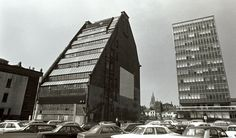 York House - Major St - Manchester - Mancunian Modernism sadly replaced by car park.