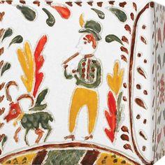 Ręcznie reliefowane i malowane kafle Zygmunta Kuliga z pracowni Kafel-Art Country, Free, Rural Area, Country Music