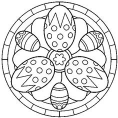 Easter Mandala Coloring Pages. 20 Easter Mandala Coloring Pages. Printable Easter Mandala Coloring Pages Free Easter Egg Easter Coloring Pages Printable, Easter Egg Coloring Pages, Cool Coloring Pages, Mandala Coloring Pages, Coloring Pages To Print, Coloring Sheets, Coloring Books, Easter Bunny Colouring, Easter Art