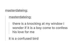 but i am a confused birb, and a girl, so can i confess my love for you