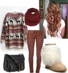 """""""Comfy Winter Style"""" by eyesonthestars on Polyvore"""
