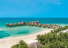The First Luxury Overwater Bungalows in Mexico is The Palafitos at El Dorado Maroma. This Adults-Only Luxury Resort in Playa del Carmen, Riviera Maya. Honeymoon Destinations All Inclusive, Best All Inclusive Resorts, Caribbean Vacations, Romantic Vacations, Hotels And Resorts, Luxury Hotels, Affordable Honeymoon, Beach Resorts, Dream Vacations