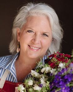 """Speaking of Cultivating Place - this week is a perfect summer-in-the-garden-treat-of -an-interview when I'm joined Thursday (July 14) by Debra Prinzing - the woman herself whose gardening, writing, thinking and advocacy led to the books (she's written around 11 at this point!): """"The 50-Mile Bouquet"""" and """"Slow Flowers"""". www.mynspr.org Thursdays 10 am and 6:30 pm Pacific time."""