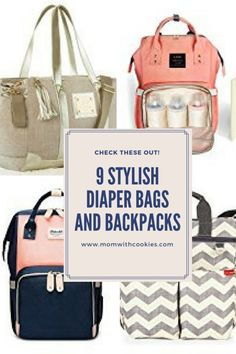 Finding a stylish diaper bag or diaper backpack during your pregnancy will help prepare you for your baby to be. Best Diaper Bag, Baby Diaper Bags, Diaper Bag Backpack, Baby Necessities, Hospital Bag, Toddler Toys, Baby Wearing, New Moms, Baby Items