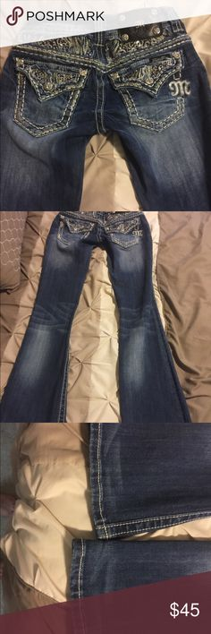 Animal print miss me jeans In great condition. Worn once. No signs of wear. Inseam is 31. Boot cut Bundle and save! Miss Me Jeans Boot Cut