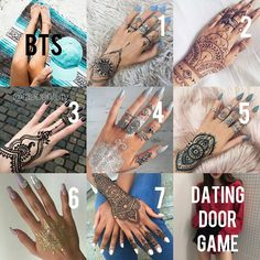 Dating Chat, Dating Games, Picnic Quotes, Game Bts, Henna Tattoo Kit, Door Games, Bts Scenarios, Dating Application, Small Hand Tattoos
