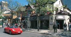 Toronto's Top 10 : Neighborhoods - Yorkville    Famous in the 1960s as a hippie hangout and now the city's most exclusive retail district, this window-shoppers' paradise abounds with eye-candy. Refined art galleries nestle among chic boutiques, bars, and restaurants. Amazing Photos, Cool Photos, Yorkville Toronto, Quay West, Visit Toronto, Capital Of Canada, Cozy Restaurant, Window Shopper, Toronto Island