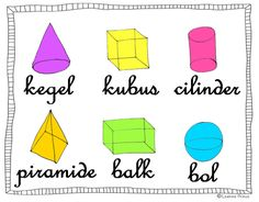 geometrische vormen poster 3d Shapes, Love My Job, Kindergarten Math, Teaching Art, Elementary Schools, Free Printables, Back To School, Classroom, Learning