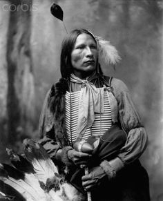 Portait of a Sioux Indian Stars Come Out, 1899.