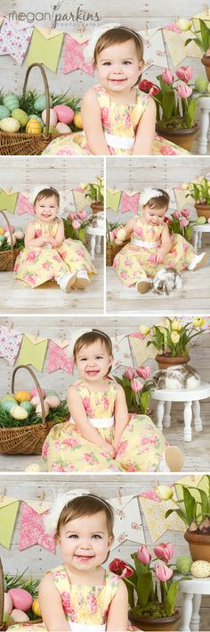 Easter Spring Mini Session  www.meganparkinsphotography.com