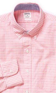 Washed Poplin - Pink Mini Gingham