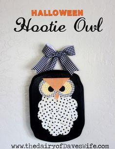 the Diary of DavesWife: Halloween Hootie Owl