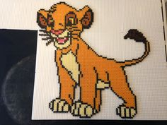 Perler Beads, Pixel Art, Tigger, Disney Characters, Fictional Characters, Projects To Try, Presents, Snoopy, Ariel