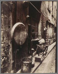 Eugène Atget, 'Rue de La Reynie (Tinsmith's Shop, rue de la Reynie),' 1912, J. Paul Getty Museum