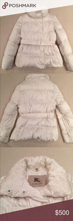 BURBERRY WINTER DOWN COAT Burberry Winter Down Coat. Great Condition. Burberry Jackets & Coats Puffers