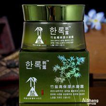 1 peça 50 g de sal de bambu creme aguado umedecimento eficaz creme hidratante hidratante para pele seca J08017(China (Mainland))