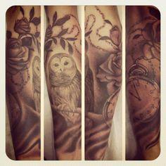Work by Kat Von D Can you say bad ass? New Tattoos, I Tattoo, Cool Tattoos, Bird Tattoos, Mystical Tattoos, Kat Von D, Skin Art, Beautiful Artwork, Tattoo Photos