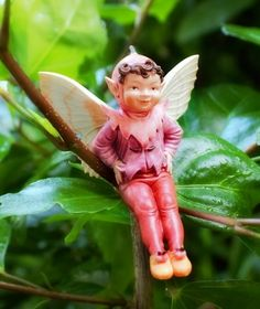 Mulberry Fairy - Garden Sparkle - Fairy Ornament