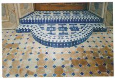suelo de mosaico marroqui