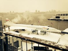 The Concorde on Pier 86 during the #Blizzardof2015 in January 2015.