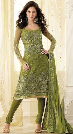 Sparkling Fashion: Designer salwar suits