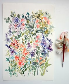 Spring Floral Mix No.2, by Susan Magdangal