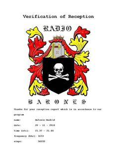 E-QSL de Radio Barones