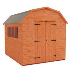 garden barns mini dutch barn shed