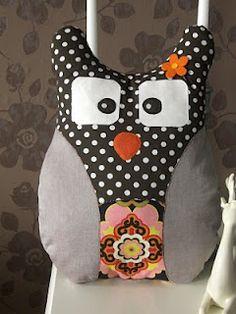 Eulen Kissen  / Owl Pillow