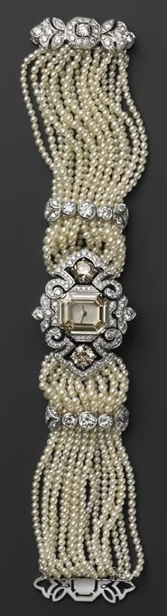 Pearls & Sparkle - Cartier, 2011 - Mille Et Une Heures Jewelry Watch Collection #tiffany tiffany coupon 2013