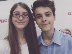 i met @coreyfogelmanis he hugged me