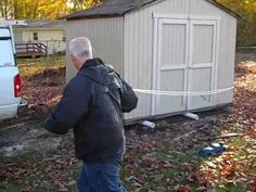 How to Move a Shed - Do It Yourself