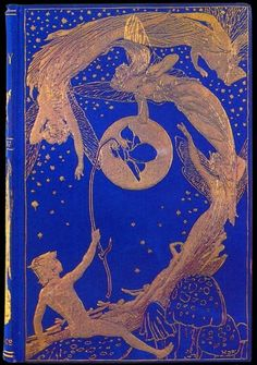 Henry Justice Ford ~ Book Cover ~ The Violet Fairy Book ~ 1901 ~