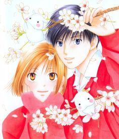 "Kare Kano Yukino and Arima. Sings: ""You may dream""...."