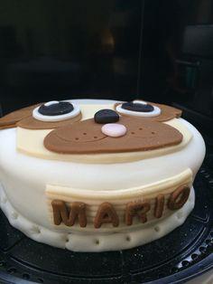 Cake dog fondant