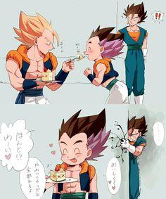 Gogeta: I am nether Goku nor Vegeta I am Gogeta! Anime Dad, Manga Anime, Asian Dragon Tattoo, Chibi, Gogeta And Vegito, Cute Dragons, Funny Anime Pics, Free Anime, Dragon Ball Gt