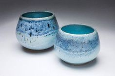 Craig Edwards, 'in the distance #1and #2',2012, porcelain and chun glaze.