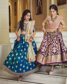 Looking for a perfect bridesmaids outfit inspirations? Here we have a listed some of the best dresses just for you. From bridesmaid lehenga to a saree, Lehenga Saree Design, Half Saree Lehenga, Kids Lehenga, Lehnga Dress, Lehenga Designs, Sari, Bridal Lehenga, Floral Lehenga, Bollywood Lehenga