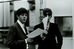 "McCartney and John Lennon (pictured) wrote the majority of The Beatles' early songs. ""John and Paul would write the songs at the beginning, then George [Harrison] started, and then I joined in, too late I may add,"" says Starr."
