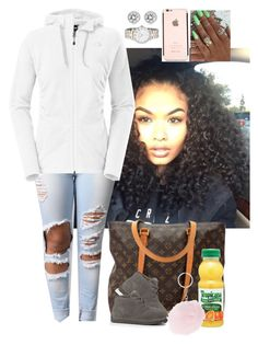 """""""Untitled #3125"""" by astoldby-kay ❤ liked on Polyvore featuring Mode, Louis Vuitton, The North Face, UGG Australia, Michael Kors und Marc by Marc Jacobs"""