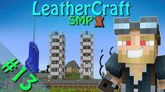 Minecraft - LeatherCraft SMP | Episode 13 - Pumpkin And Melon Farm!