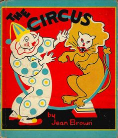 cover of 'the circus' by jean brown (1938)