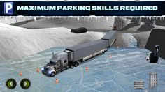 Ice Road Trucker Parking Simulator 2 a Real Monster Truck Car Park Racing Game on the App Store