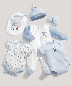 Boys 6 Piece Jersey Set - Baby Boys Essentials - Mamas & Papas