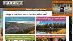 Research Quest is a library of online science investigation classes created by the museum for teachers and parents to share with students.